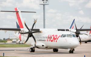 HOP! rajeunit sa flotte avec l'arrivée de cinq ATR 72-600