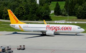 Pegasus Airlines : trafic en hausse de 17,3% en 2014