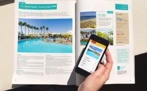 Réalité augmentée : Marmara relie sa brochure à son site Internet