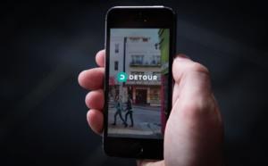 Detour, l'application audioguide lancée par le créateur de Groupon