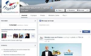 Réseaux sociaux : le nombre de fans de la destination France a progressé de 127 % en un an