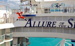 Royal Caribbean : l'Allure of the Seas débarque en France le 26 mai 2015