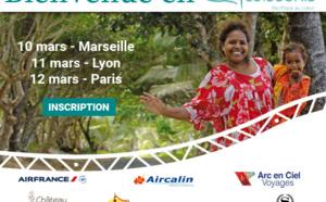 Nouvelle-Calédonie Tourisme part en tournée à Marseille, Lyon et Paris