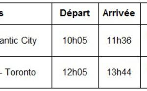 Air Canada volera entre Toronto et Atlantic City du 22 mai au 7 septembre 2015