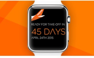Apple Watch : une application easyJet dès la sortie de la montre connectée