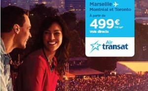 Air Transat communique sur les ondes, dans les gares et les aéroports français