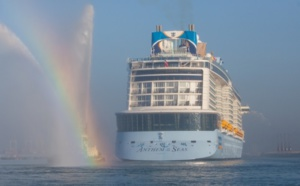 Royal Caribbean : l'Anthem of the Seas a été baptisé à Southampton