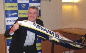 Ryanair : vers une baisse de 10 à 15 % du prix des billets d'ici 2 ans
