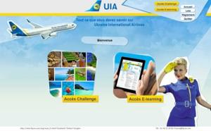 Ukraine International Airlines lance un challenge de ventes et un e-learning