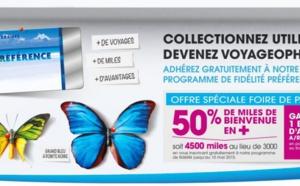Air Caraïbes : offre spéciale pour le programme de fidélité pendant la Foire de Paris