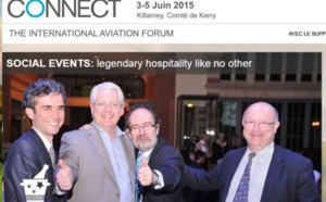 Connect Trade Fair: more than 350 air transport professionals expected in Ireland
