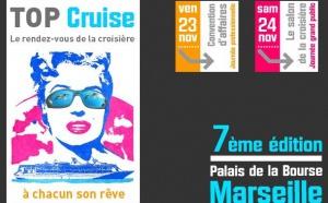 7e édition de TOP Cruise : la croisière débarque à Marseille vendredi