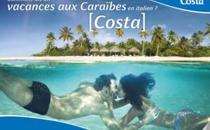Hiver 2015/16 : Costa Croisières positionnera le Favolosa dans les Antilles