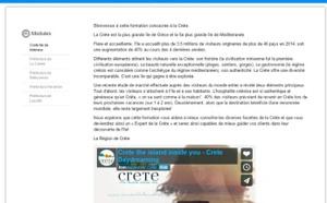 CreteExperts.fr : la Crète lance son site d'e-learning