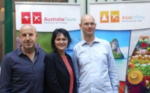 Australie Tours met le cap sur l'Asie