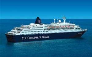 CDF Croisières de France fait gagner une croisière aux agents de voyages