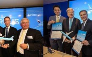 Salon du Bourget : Korean Air commande 102 avions pour 10,7 milliards €