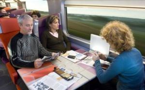 Gagnez du temps sur le temps : l'Internet à grande vitesse dans le TGV Est !
