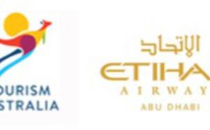Tourism Australia et Etihad Airways renouvellent leur partenariat pour 5 ans
