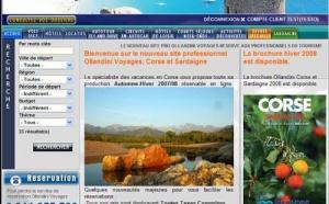 Ollandini Voyages : nouvelle version du site Pro