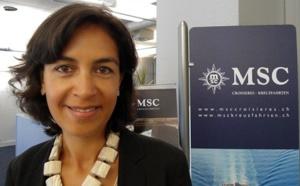 MSC Croisières : Sylvie Boulant nommée Country Manager Suisse
