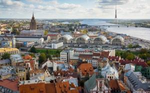 Riga, le phare de la Baltique