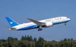 Xiamen Airlines se pose à Amsterdam Schiphol