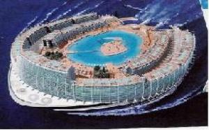 Croisières : une île flottante en guise de paquebot