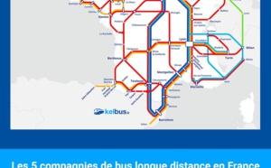 Infographie - Transport en autocars : Kelbus.fr dresse le portrait du secteur en France