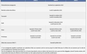 Vacances scolaires : découvrez le calendrier pour 2021-2022
