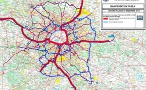 Manisfestations à Paris : les agriculteurs bloquent la circulation dans et autour de la capitale