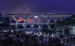 Pont du Gard : plus de 780 000 visiteurs (+4%) pendant l'été 2015