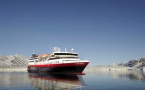 Hurtigruten : le nouveau navire d'exploration est baptisé MS Spitsbergen