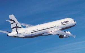 Hiver 2015-16 : Aegean Airlines maintient sa ligne directe Lyon - Athènes