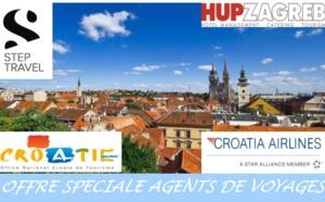 Croatie : Step Travel lance une offre spéciale AGV sur Zagreb