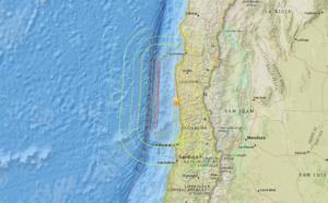 Séisme au Chili : une partie de l'Océan Pacifique en alerte tsunami