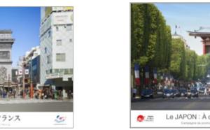 Le Japon et la France vantent leurs atouts touristiques ensemble