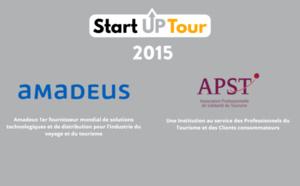 StartUpTour 2015 : TravelerPark et Planet Ride récompensés