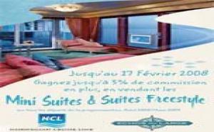Norwegian Cruise Line : sur-commissions pour les suites et mini-suites