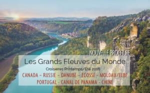"""Rivages du Monde sort sa brochure """"Les Grands Fleuves du Monde"""" printemps/été 2016"""