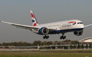 British Airways a reçu son premier Boeing B787-9 Dreamliner à Londres