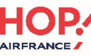 """Hop ! Air France satisfaite de la ponctualité """"record"""" de ses vols en septembre 2015"""