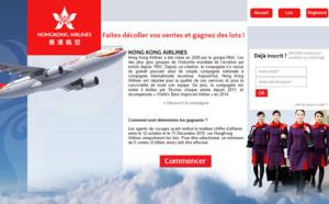HongKong Airlines : challenge des ventes jusqu'au 11 décembre 2015
