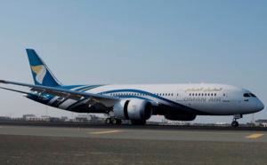 Oman Air reçoit le premier exemplaire de ses 6 B787-9 Dreamliner commandés
