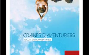 """Voyages famille : Nouvelles Frontières à Kidexpo pour présenter sa brochure """"Graines d'Aventuriers"""""""