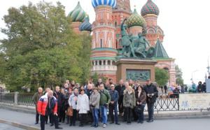 """National Tours emmène ses partenaires à la découverte des """"Merveilles de Moscou"""""""
