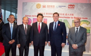 Hainan Airlines : vols Beijing-Manchester dès juin 2016