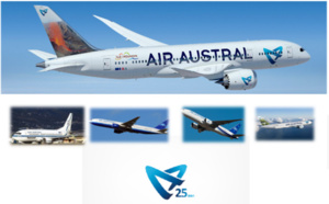 Air Austral fête son 25e anniversaire !