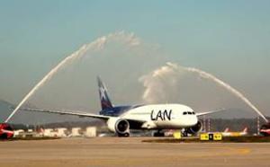 LAN Airlines ouvre un nouveau vol entre Santiago et Milan via Sao Paulo