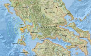 Grèce : séisme de magnitude 6.5 au large de Nidri
